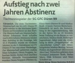 Zeitungsartikel 06.09.2012