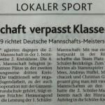 Zeitungsartikel 23.08.2013